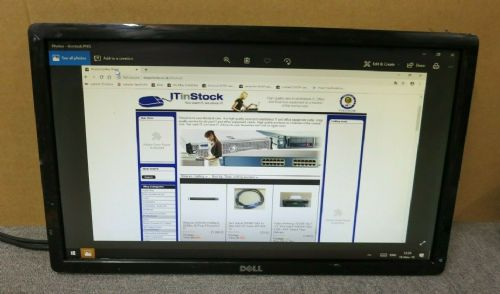 "Dell YC5GC IN2030MC Black 20"" LCD TFT LED Widescreen Monitor VGA DVI No Stand"